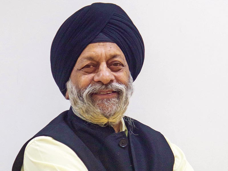 Prof Charanjit Singh Shah  practicing architect, planner, author, scholar, educationist, teacher, art & architecture critic