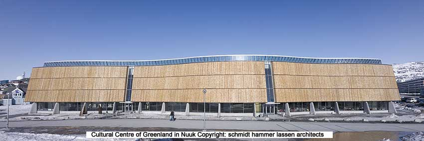 Cultural centre of greenland in Nuuk