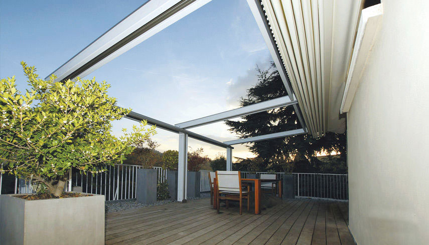 Wall Mounted Pergola By Gibus