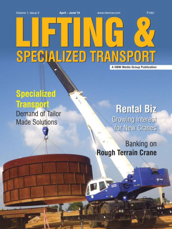 Lifting and Specialized Transport April - June 2015