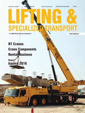Lifting and Specialized Transport April - June 2016