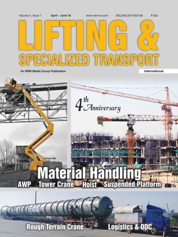 Lifting and Specialized Transport April - June 2018