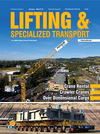 Lifting and Specialized Transport January - March 2018