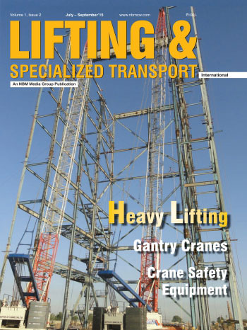 Lifting and Specialized Transport July - September 2015