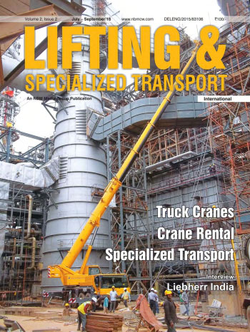 Lifting and Specialized Transport July - September 2016