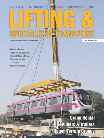 Lifting and Specialized Transport July - September 2017