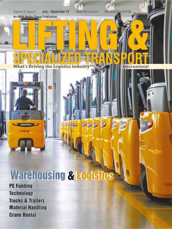 Lifting and Specialized Transport July - September 2019