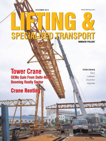 Lifting and Specialized Transport October - December 2014