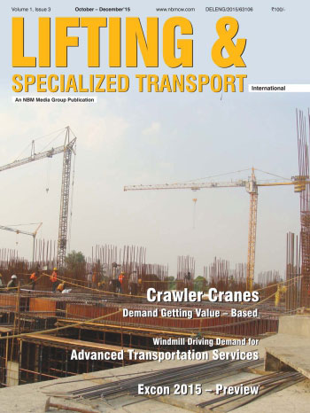 Lifting and Specialized Transport October - December 2015