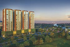 thyssenkrupp Passenger Elevators at Riverdale Heights Township in Kharadi by Duville Estates