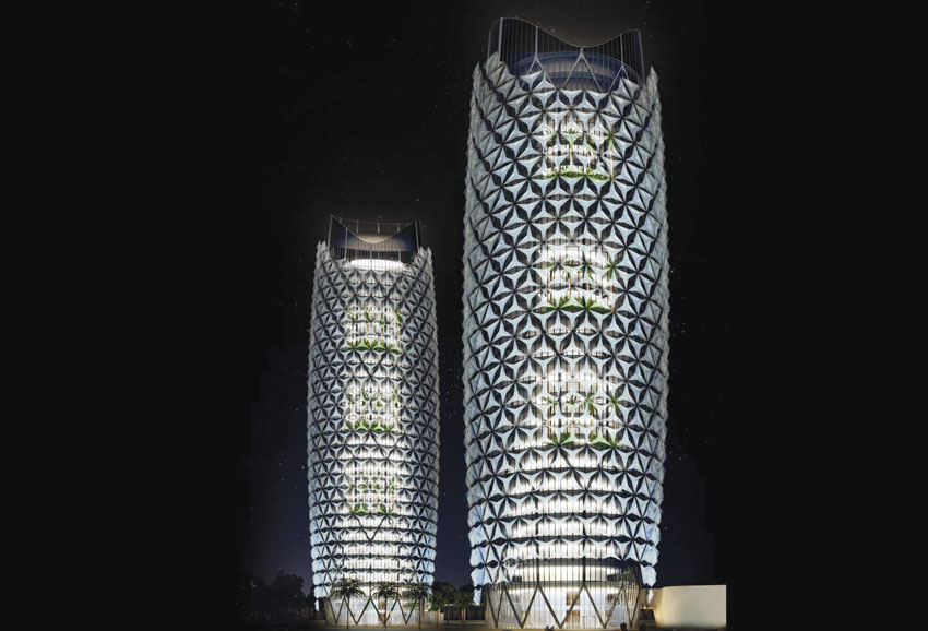 Abu Dhabi Towers