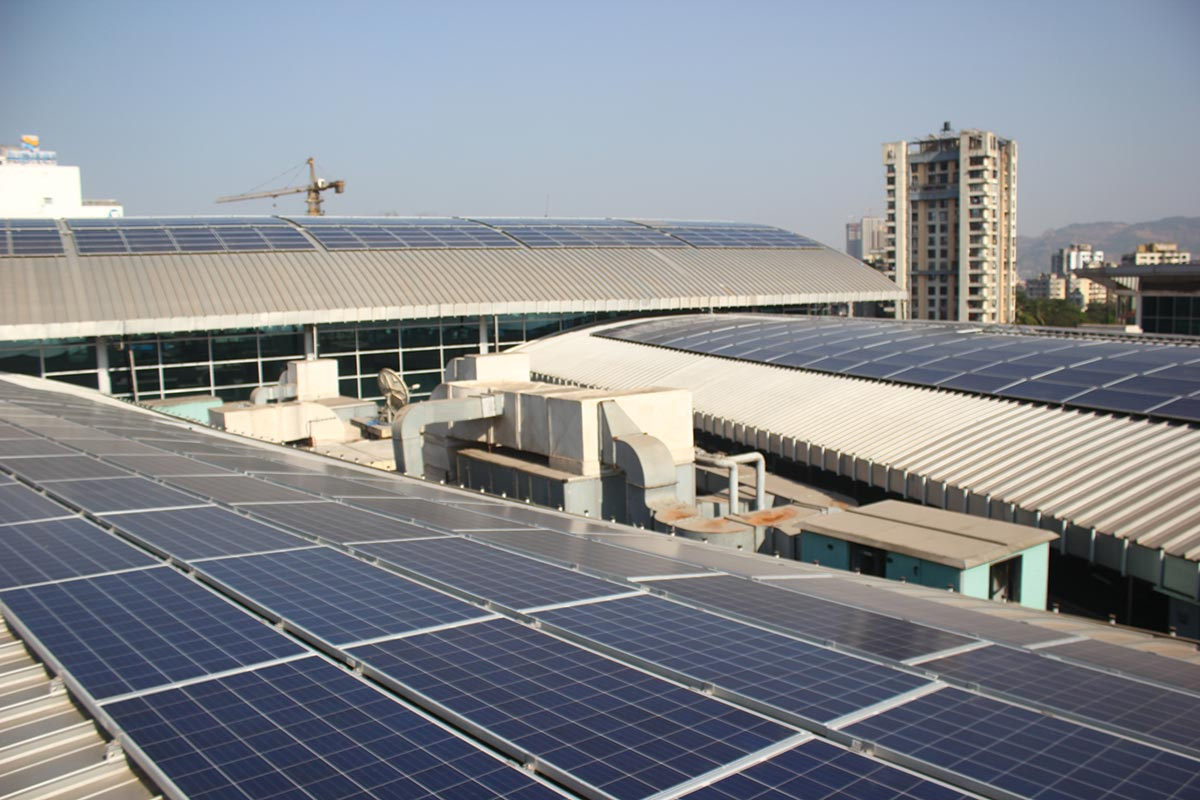 Viviana Mall increases rooftop solar installation