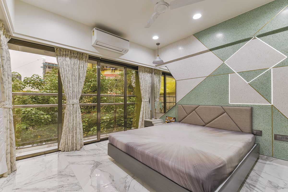 Arjun Rathi Design - Kubadia Residence Rural Modern II - Girls Bedroom