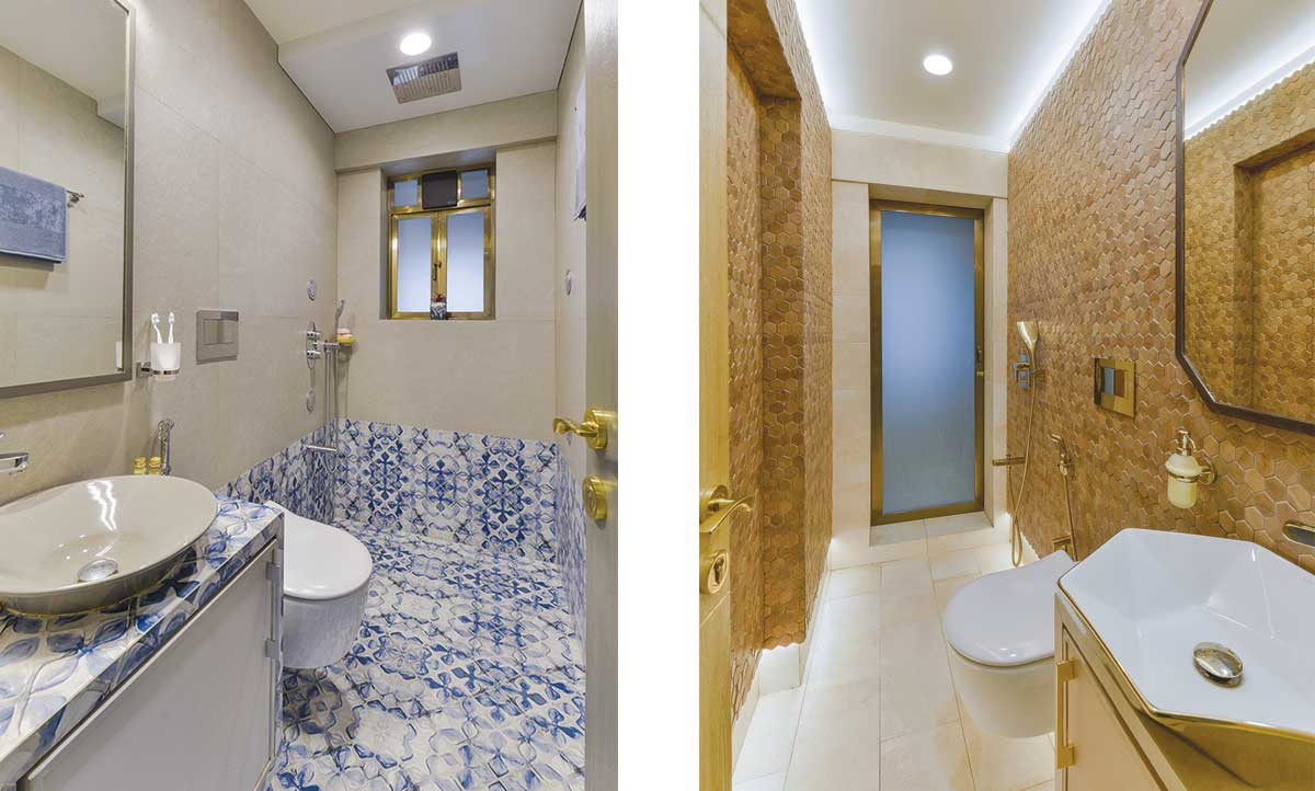 Arjun Rathi Design - Kubadia Residence Rural Modern II - Girls Bathroom