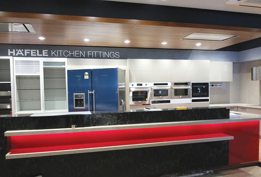 Häfele launches its Live Kitchen at Häfele Design Centre in