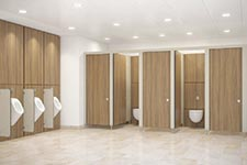 Stylam Restroom & Locker Cubicles