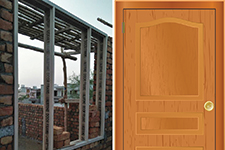 Strong & durable WPC doors, door & window frames by Alstone