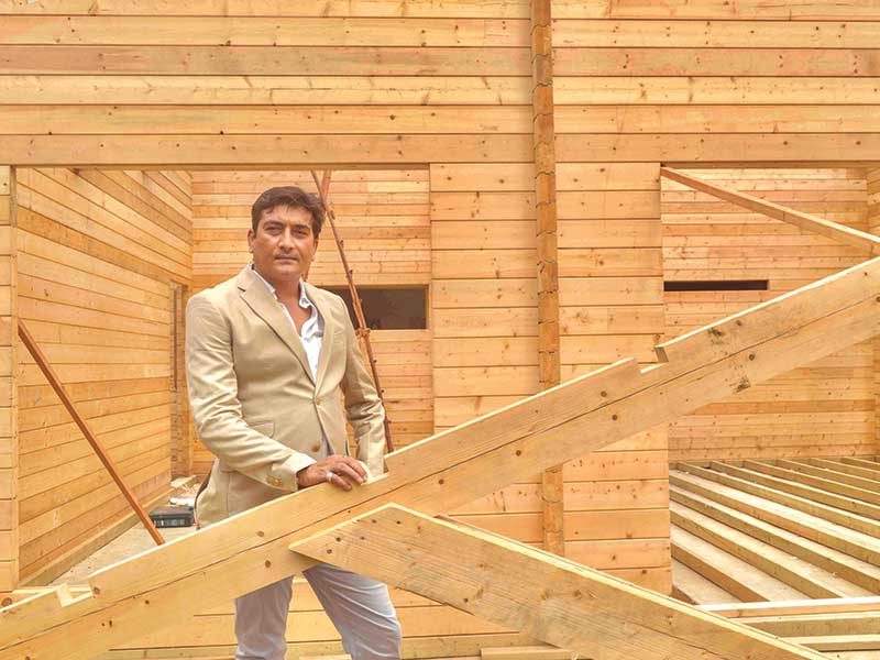 Sanjay Sharma, Founder, Woodbarn India