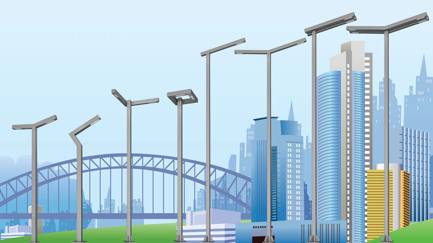 Polar Lighting Poles Highrises