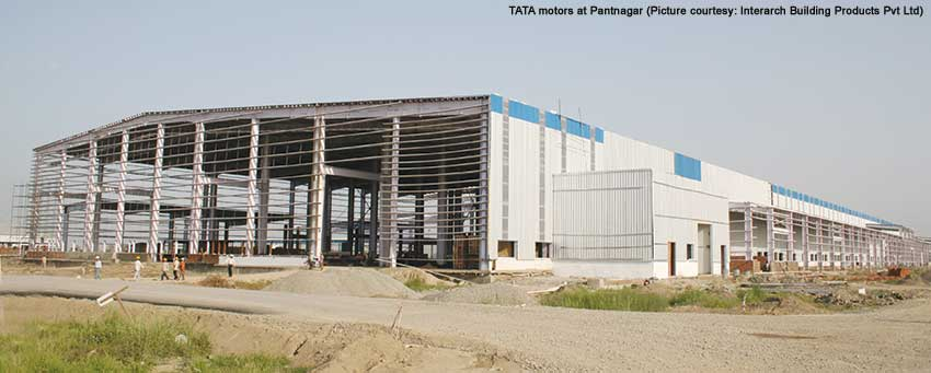 TATA motors at Pantnagar Interarch Building Products
