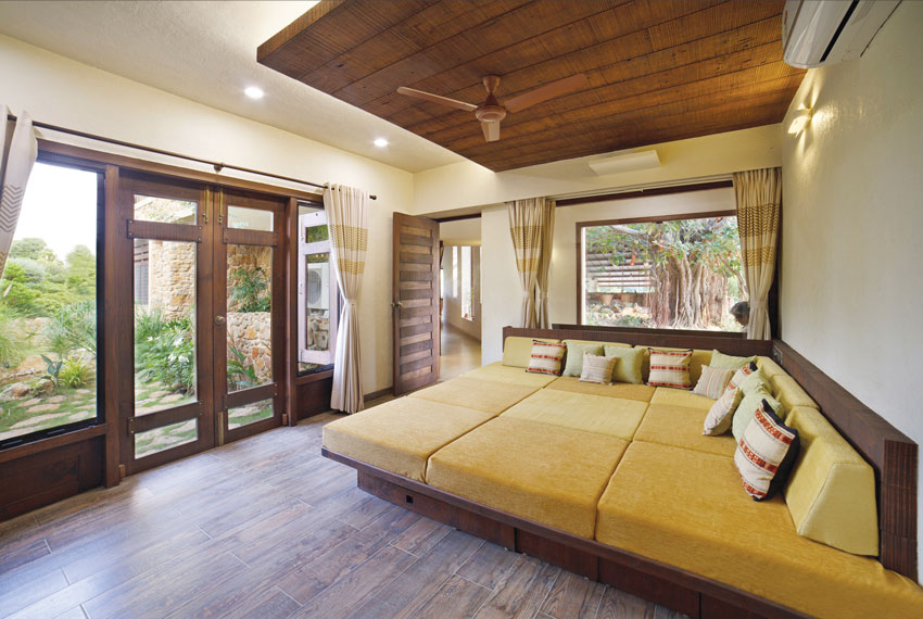 Gandhi Farmhouse Bedroom