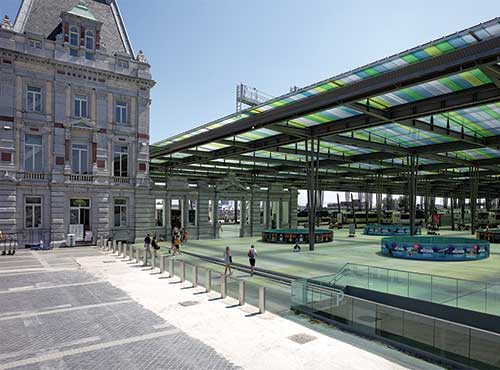 The New Station of Oostende - Enriching the Urban Composition