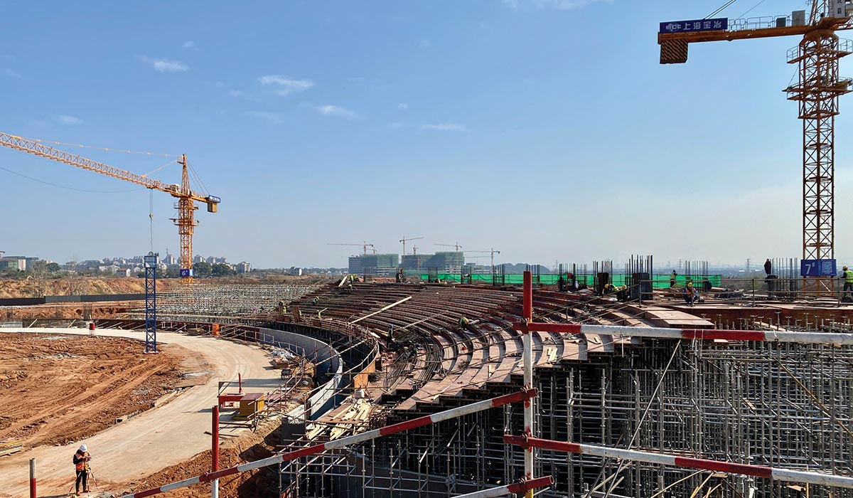 MAD - Quzhou Sports Campus-SD Under construction