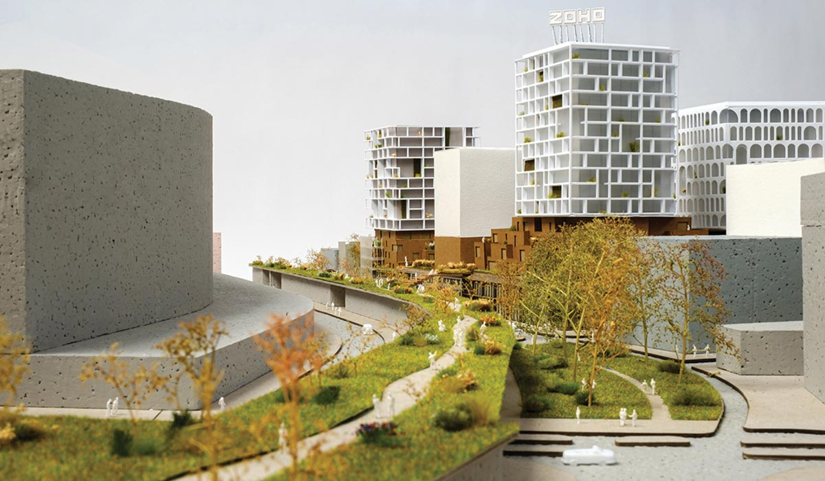 Orange Architects - ZOHO district in Rotterdam