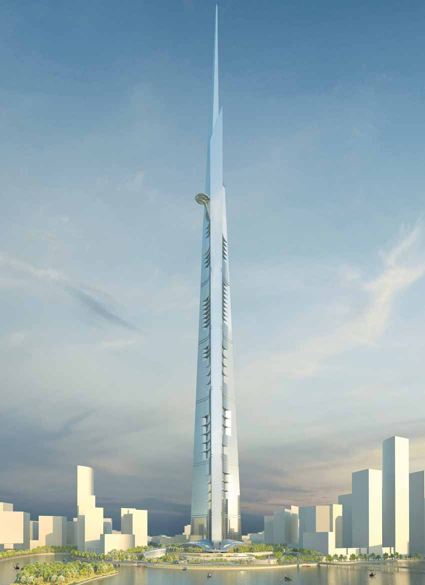 World's Tallest Building wil be Kingdom Tower