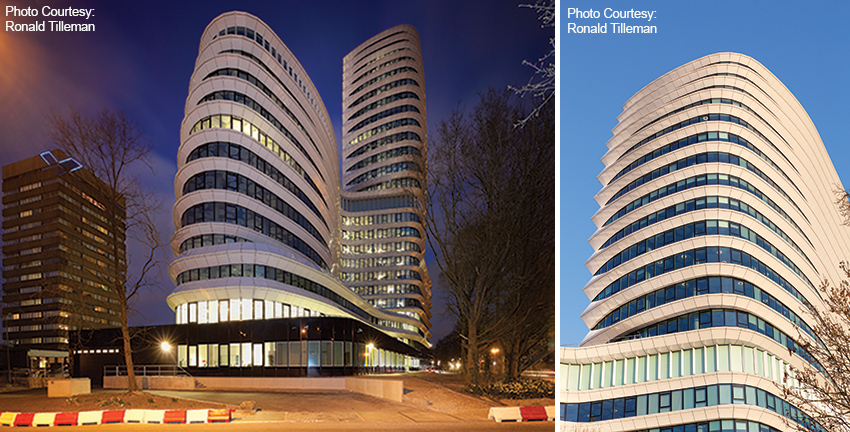 Sustainable large office buildings