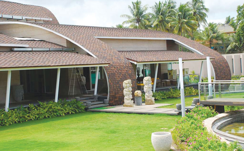 Saint Gobain Roofing Shingles in Farmhouse In Kolhapur