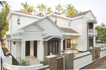 Roofing Shingles Residence in Thrissur