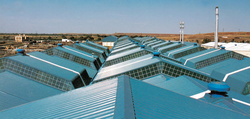 Develops Roofing Technology