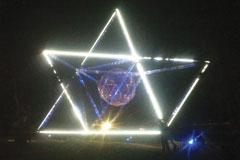 "NTL Lemnis's Pharox LED's used To Light Up The ""Sunstar"" Unveiled atop Signal Hill in Cape Town"
