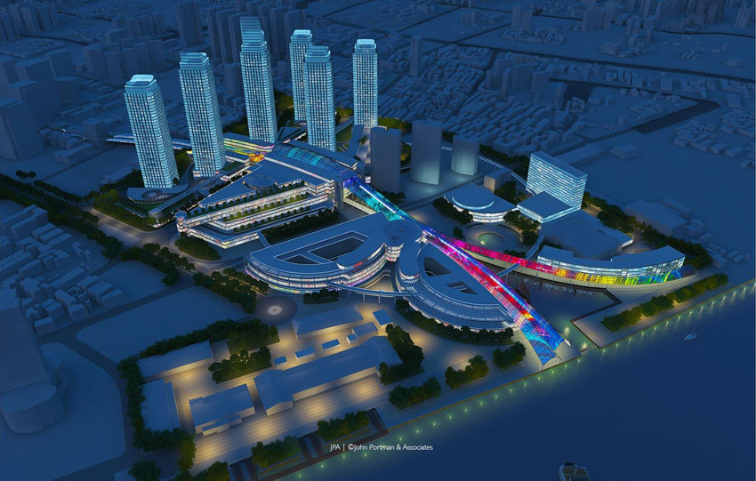 New Master Plan Activates the Yangpu Riverfront