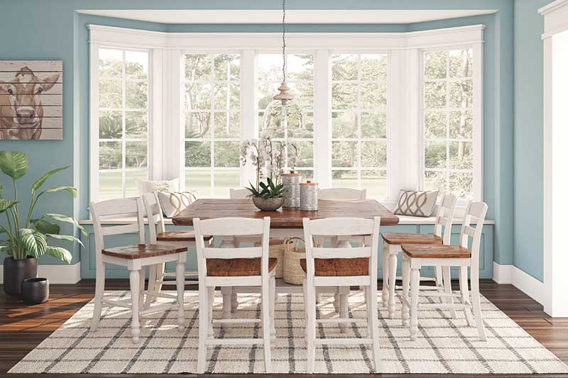 Ashley Furniture HomeStore launches dining room furniture