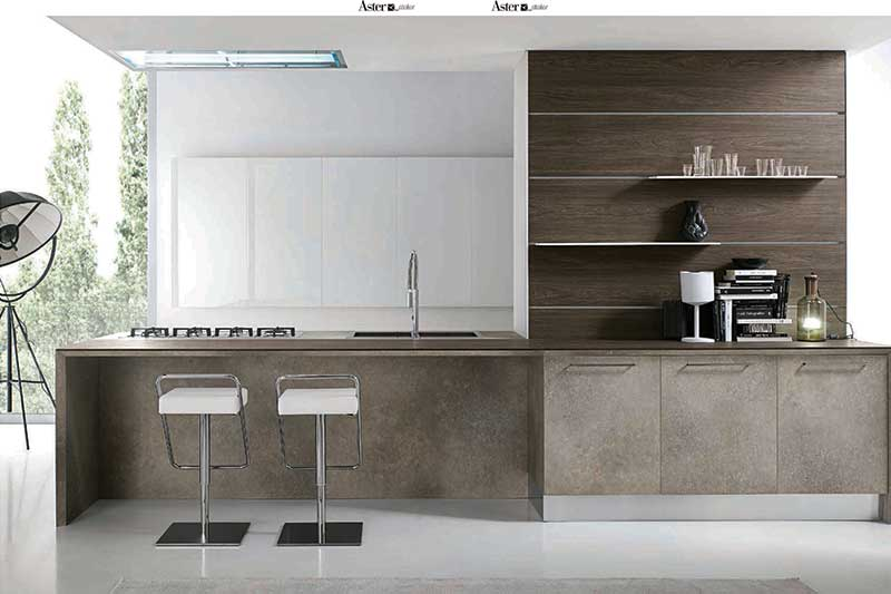 Ottimo brings Atelier kitchens by Aster Cucine