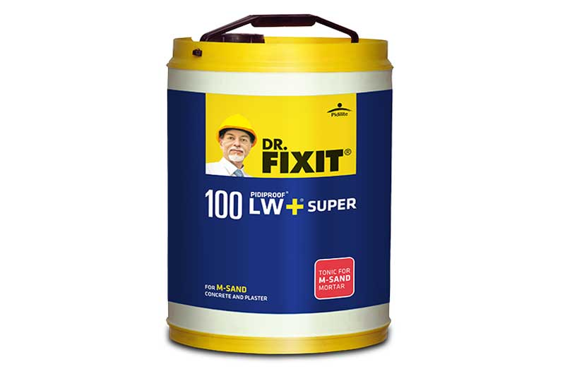 Dr. Fixit introduces LW+Super -An ultimate tonic that enhances the efficiency of M-sand