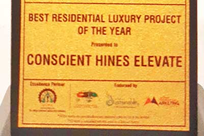 'Elevate' recognizes as the Best Residential Luxury Project of The Year 2020