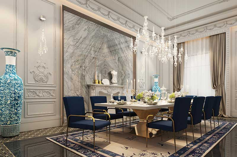 42mm Architecture unveils grand dining rooms